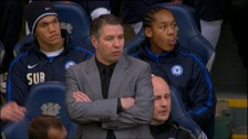 Peterborough United manager Darren Ferguson on touchline at London Road