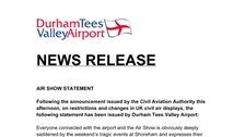 Air Show statement