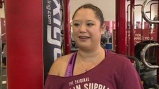 Tabitha Fung is boxing to help her recover