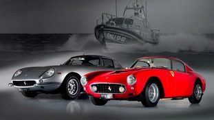 Historic Ferrari auction to fund new lifeboats