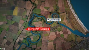 Warkworth map