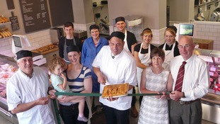 The opening of Low Howgill Butchers and Deli
