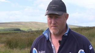 Robert Thorburn had 250 of his lambs and ewes stolen