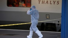 """French officials have opened an investigation into the gunman over """"attempted murders with terrorist intent""""."""