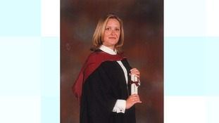Helen Richardson as a graduate