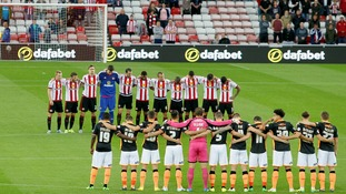 Minutes silence at Stadium of Light