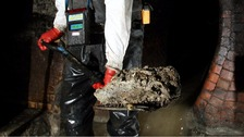 Lumps of hard, congealed fat can cause blockages in the sewer system