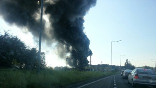 Fire at Ney Ltd Siskin Drive Coventry