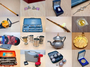 Stolen items not claimed