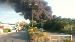 Fire in Coventry
