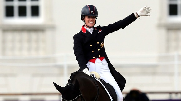 Great Britain's Charlotte Dujardin.