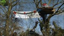 Metrobus protest
