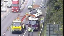 m25 boat recovery