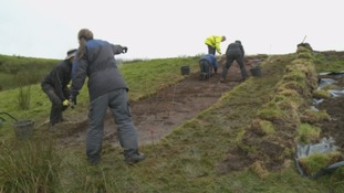 Archaeological dig at Ecclefechan