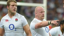 Dan Cole and Joe Launchbury were both selected.