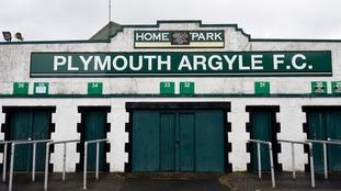 Plymouth Argyle turnstiles