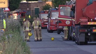 Fire engines from West MIdlands Fire Service and Warwickshire Fire & Rescue were needed