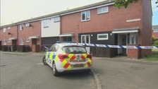 The baby was found in Emerson Court in Peterlee