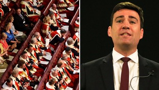 Andy Burnham calls House of Lords 'a national embarrassment'