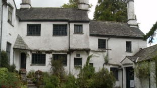 Damp damage in one of the Lake District's oldest buildings