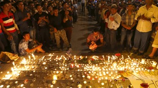 A vigil was held for the victims of the Austrian lorry tragedy in Budapest.