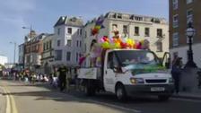 Kent Pride parade