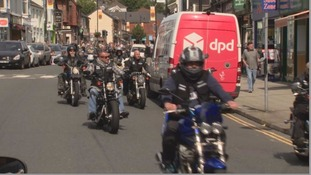 'She'd love this' - Hundreds of bikers ride in memory of Tunisia terror victim Trudy Jones