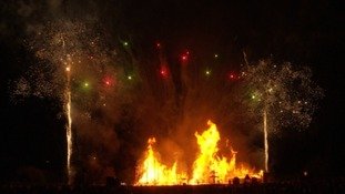 Trumpton bonfire raises thousands for charity