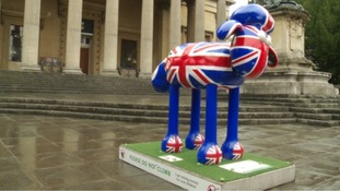 Last weekend for Bristol's Shaun in the City trail