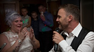 Gary Barlow surprises bride with wedding day serenade
