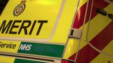 One of the patients, a man in his 20s, was treated for a serious head injury