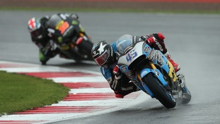Estrella Galicia's Scott Redding during the Octo British Grand Prix at the Silverstone Circuit, Northamptonshire.