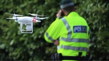 Drones have already been used by the police.