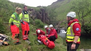 Mobile phones blamed for increase in mountain rescues