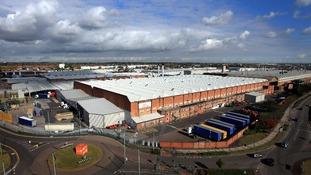 Jaguar's Castle Bromwich plant in Birmingham
