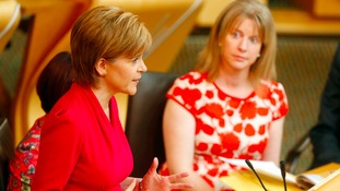 Nicola Sturgeon outlined the plans at Holyrood.