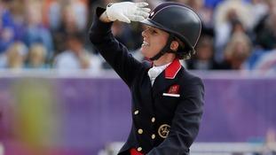 Charlotte Dujardin on her horse Valegro.