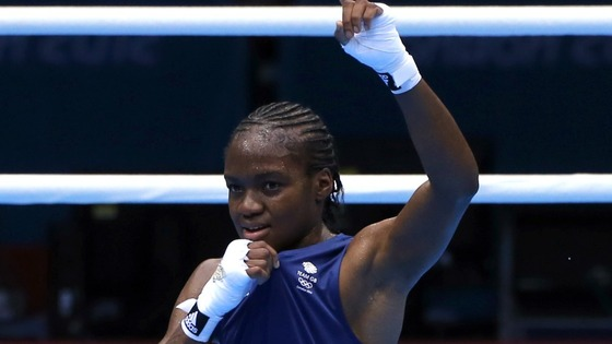 Briton Nicola Adams.