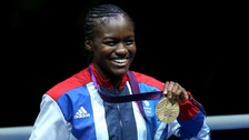 Nicola Adams wins Olympic gold.