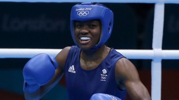 Adams won an historic first Olympic gold medal in women's boxing.