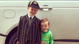 Kai and Klay Rooney
