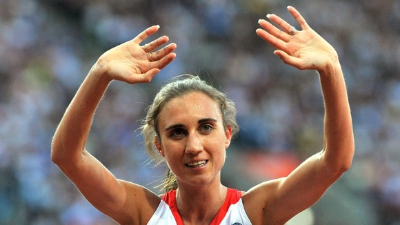Great Britain's Lisa Dobriskey will compete in the women's 1500m final on Friday.