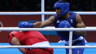 Britain's Anthony Joshua can book a super-heavywight final place on Friday.