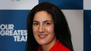 Taekwondo's Sarah Stevenson.