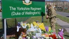 Tributes were laid at the 3rd Battalion the Yorkshire Regiment's barracks in Warminster