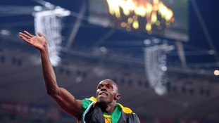 80,000 fans watched Usain Bolt make Olympic history.