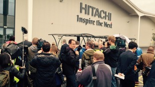 Picture Gallery: Hitachi Factory opens in Newton Aycliffe