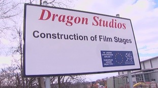 Dragon Studios sign