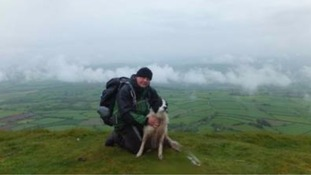 Witness relives moment friend died in Brecon Beacons lightning strike