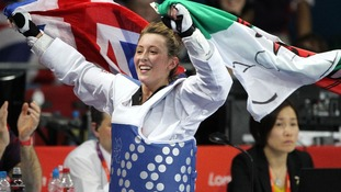 Welsh taekwondo star Jade Jones makes Olympic history